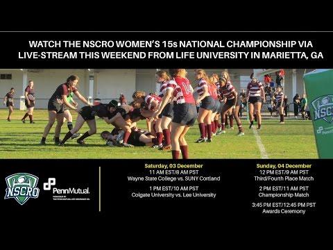 2016 NSCRO Women's Championships - Day 1