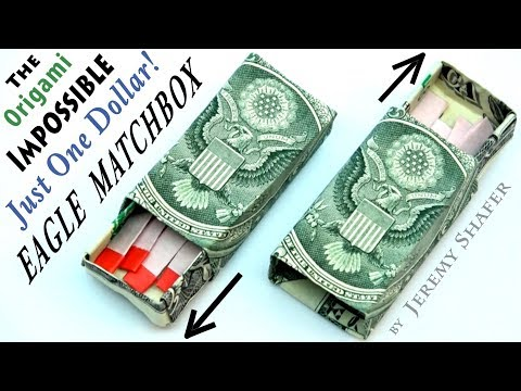 Impossible Just-One-Dollar Eagle Matchbox