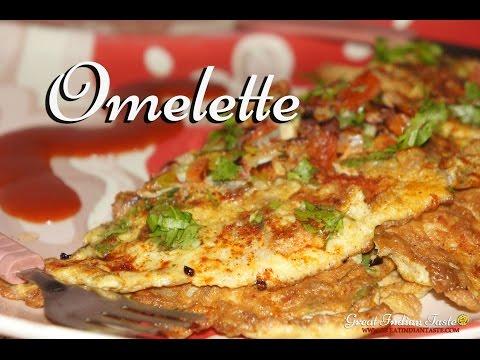 Masala Omelette - TheGreatIndianTaste.com