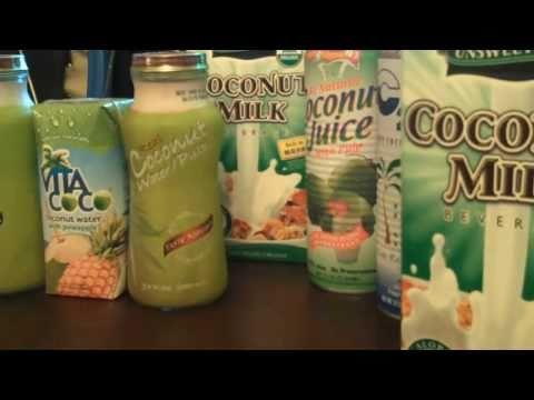 Healthy Skin:Coconut Water, Raw Coconut, Coconut Milk,  Oil, Flakes -[HD]