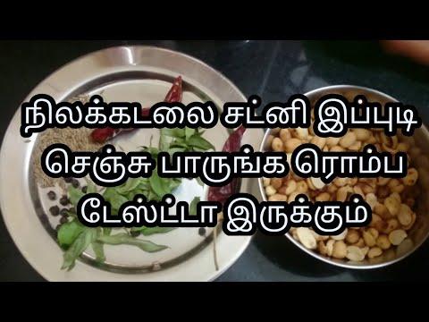 Peanut Chutney for Idly and Rice | Groundnut Chutney | groundnut chutney recipe in tamil
