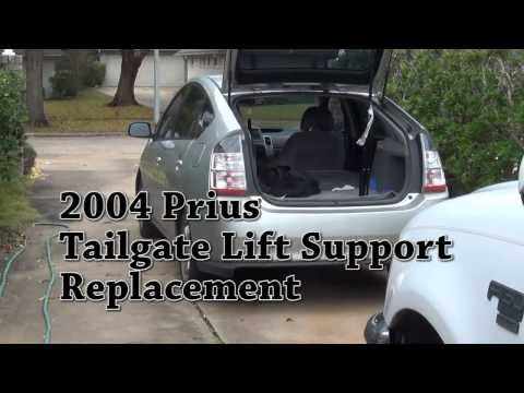 2004 Prius Tailgate lift support replacement