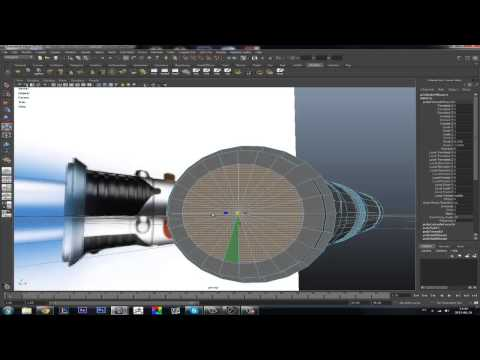 Autodesk Maya - Lightsaber - Speed Modeling