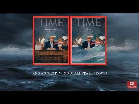This is Bible Prophecy   Trump's 'Stormy' Time Magazine Cover