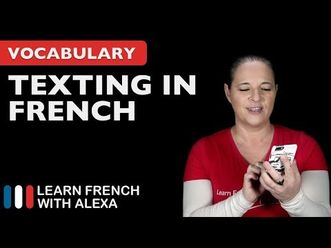 Can you text like a pro in French?