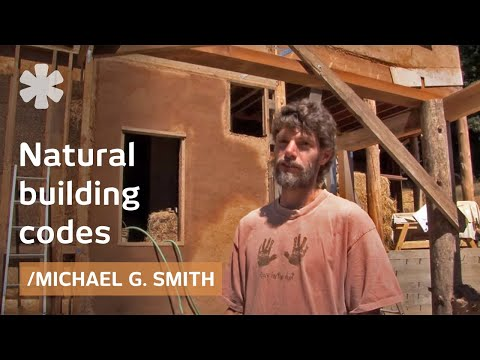 Natural building codes: some for straw bale and adobe, little for cob