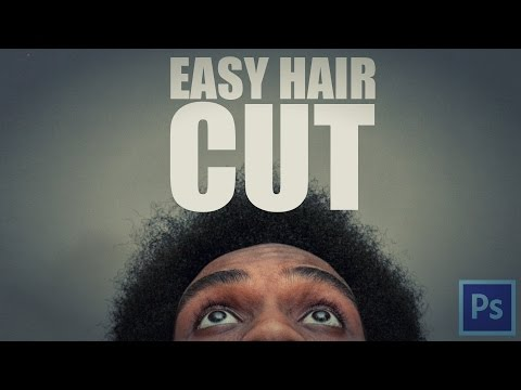 Photoshop Tutorial: Easy Hair Cut