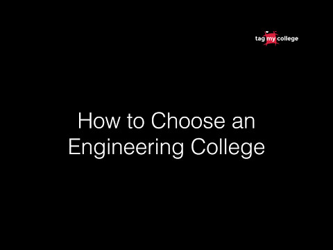4 Most important factors for choosing a Engineering College. | Tagmycollege.com