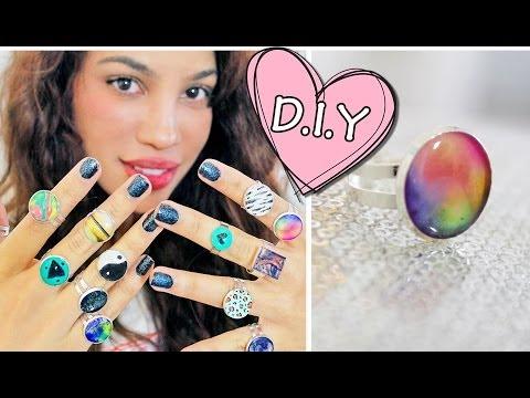 DIY GLUE RINGS?!