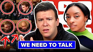 THEY DON'T WANT YOU TO SEE THIS VIDEO. Simone Biles, Jan 6 Exposed, Heartbreaking Details, & More