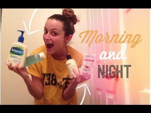 My Morning & Night Skincare Routine (Sensitive)