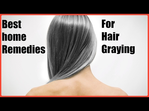 How to change white hair to black hair naturally and permanently/best remedy for grey hair