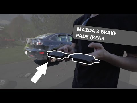 Mazda 3 Rear Brake Pad Replacement Install (2007-2013)