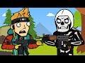 Skull Trooper amp Flush Factory The Squad Fortnite Animation