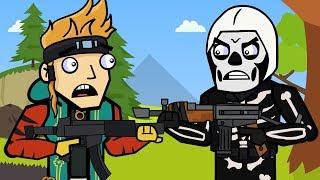 Skull Trooper & Flush Factory | The Squad (Fortnite Animation)
