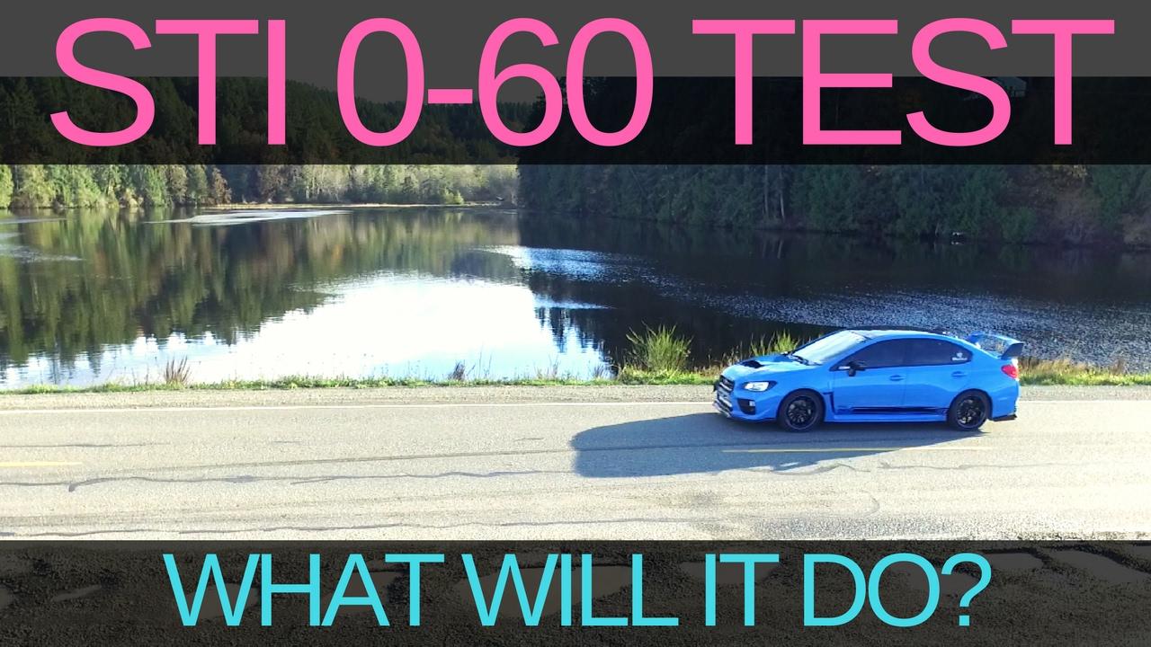 0-60 TEST! 2016 SUBARU STI HYPER BLUE | NEW PARTS!