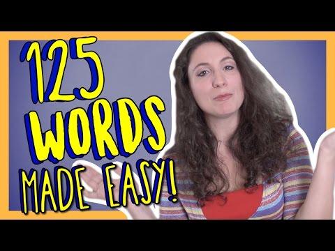 Learn 125 Beginner Italian Words with Ilaria! Italian Vocabulary Made Easy