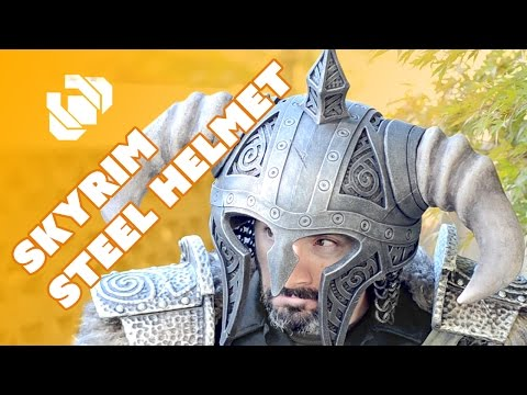 How to Make the Horned Steel Helm for your Skyrim Costume - Prop: Shop