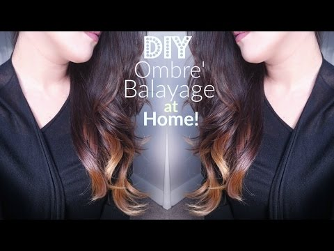 DIY: Watch Me Cut, Ombre,' Balayage my hair at home!