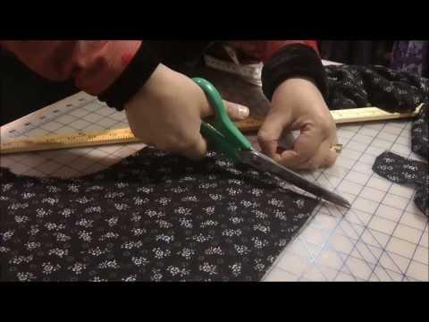 SHIRT DRESS: Measurements & Cutting