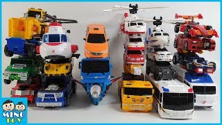 Hello Carbot 23 vehicles transform to 13 robots integration!