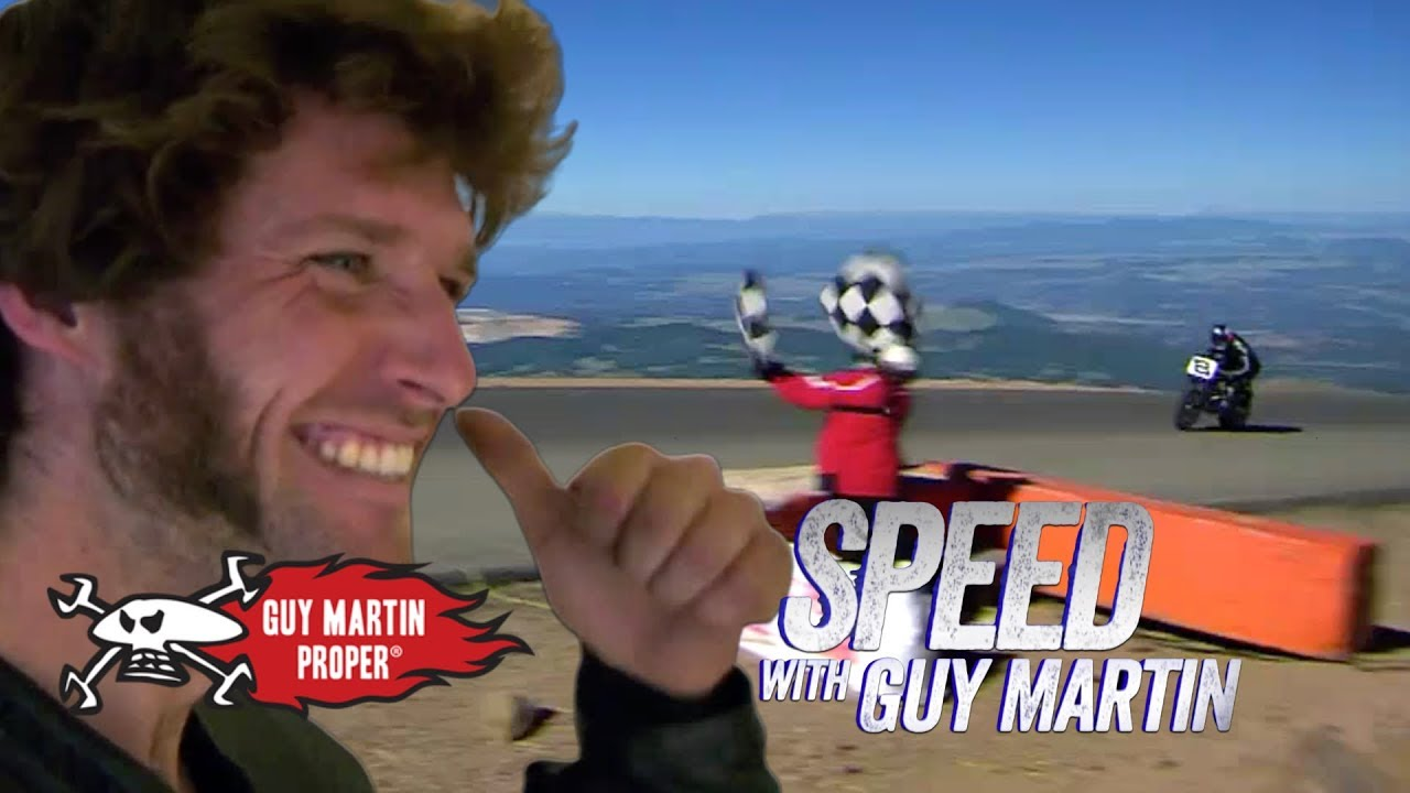 Guy's Winning Pikes Peak Hill Climb   Guy Martin Proper