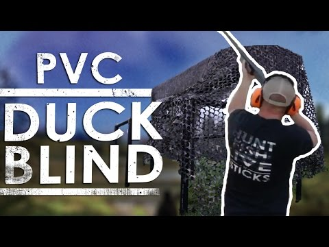 Homemade PVC Duck Blind DIY | The Sticks Outfitter | EP. 31
