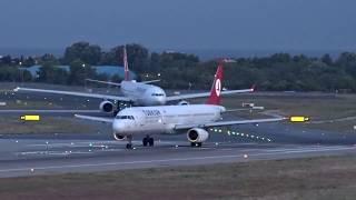 Istanbul Atatürk Airport (İstanbul Atatürk Havalimanı) - Nighttime Takeoff - (2017-07-18)