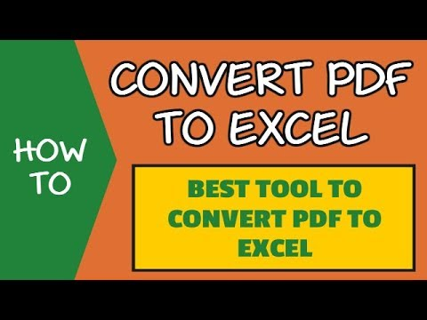 Extract Data From PDF to Excel with Able2Extract Converter (FREE Trial)