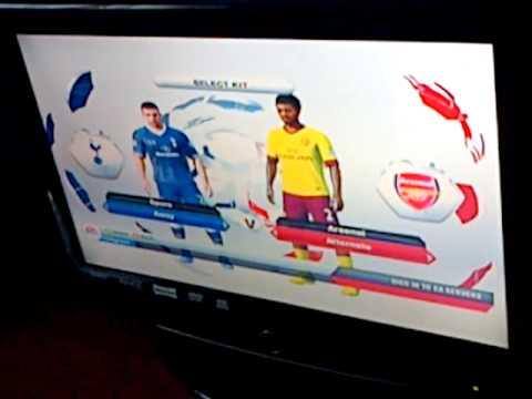 fifa 13 starting a match