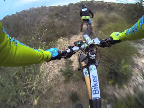 Ciclismo montaña Agridulce Montes Ribera Monte Blanco Circuito MTB