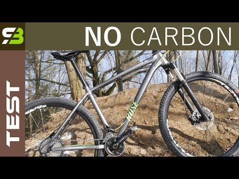 ZERO CARBON -  My Second XC Racing Bike In 2018 - Rose Count Solo On SLX.