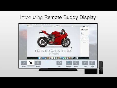 Introducing Remote Buddy Display – Access your Mac from your Apple TV & control it with Siri Remote