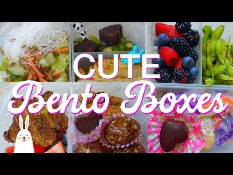 CUTE Vegan Bento Box Lunch Ideas | Leeor Alexandra