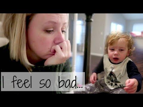Baby's horrible night terror experience! |Vlogmas Day 6|