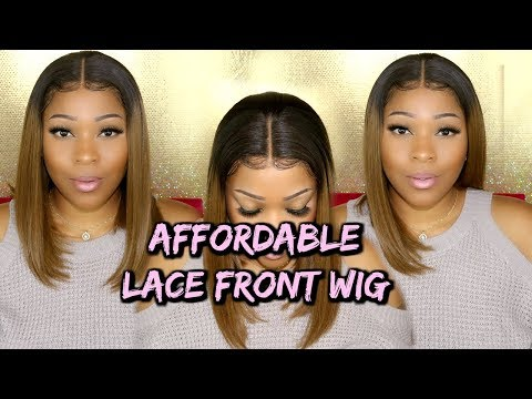 Lace Wig Install | You Will Love This Blonde Bob Wig 150% Density | RpgHair