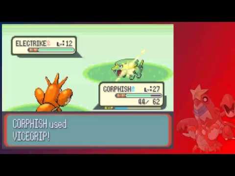 Pokémon Ruby Solo Speedrun VS  OverlordEevee Part 1: Corphish!