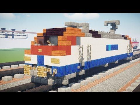 Minecraft Korail 8200 Class Korean Locomotive Tutorial