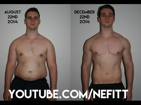 Amazing 16 Week / 4 Month Fitness Transformation Video - Before and After Weight Loss Journey