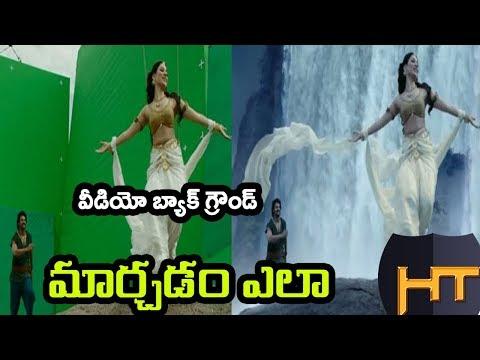 How to change video background || Telugu Tech Tuts