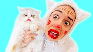 SWITCHING LIVES WITH A CAT FOR A DAY!