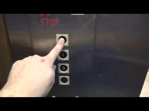 Vintage Long Hydraulic elevator @ Kirkwood Plaza Kirkwood MO
