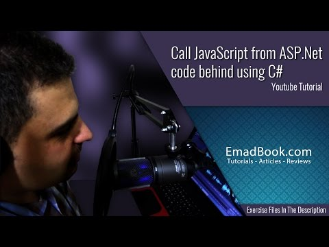 Call JavaScript from ASP.Net code behind using C#