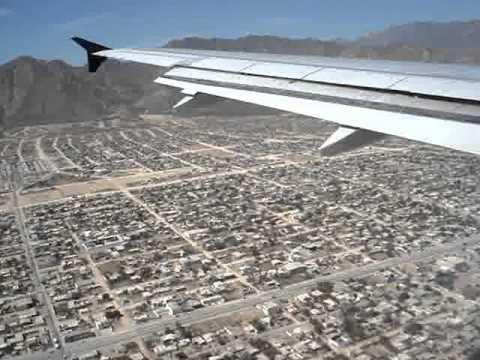 Aterrizaje en San José del Cabo, Mexico / Landing in San Jose del Cabo, Mexico