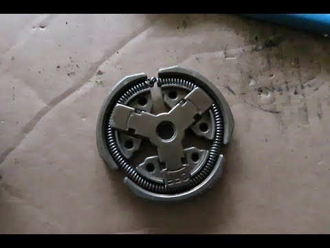 How to Re-assemble a Chain Saw Clutch