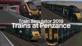 Trains at Penzance 2019 (Incl Sleeper & Mini HST!) | Train Simulator 2019