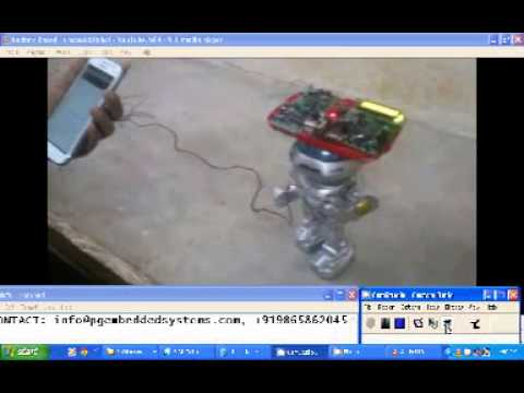 HUMAN ROBOT CONTROL SYSTEMS USING ANDROID PHONE