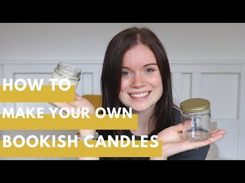 How to make your own bookish candles