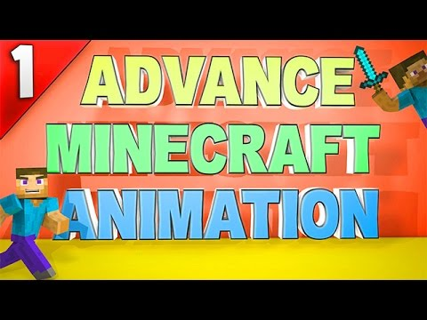 Cinema 4D BEGINNERS TUTORIAL : Animate Minecraft (Walking , Jumping & Throwing Weapons!) - Part 1