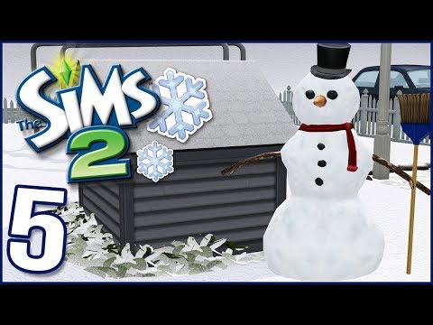The Sims 2 | Collins Family | PT 5 |  Snow Day & We Failed.